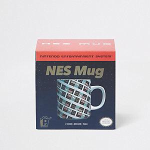 Grey NES mug