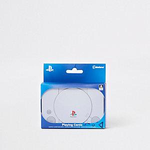 Graue PlayStation Spielkarten