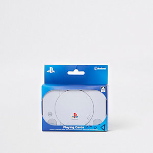 Grey PlayStation playing cards