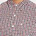 Levi's red check print long sleeve shirt