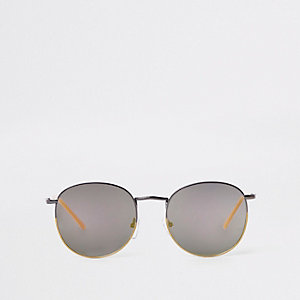 Yellow tipped tinted sunglasses