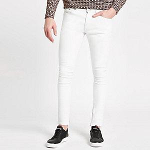 White Danny super skinny jeans