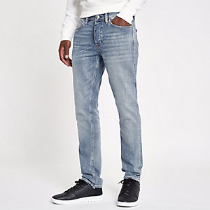 Hellblaue Slim Fit Jeans