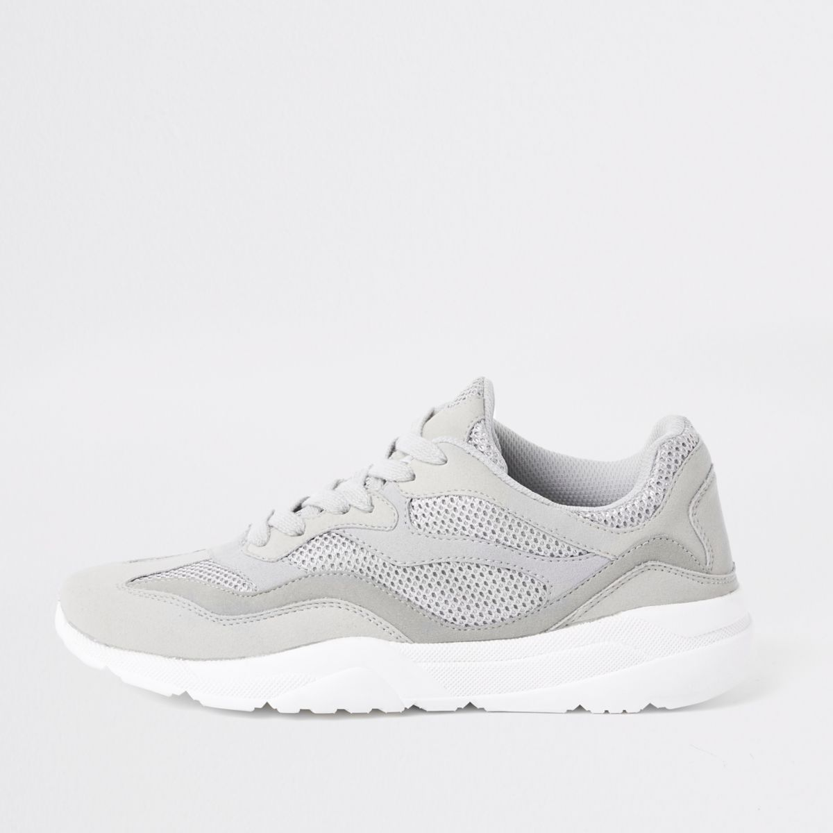 Stone runner lace-up sneakers