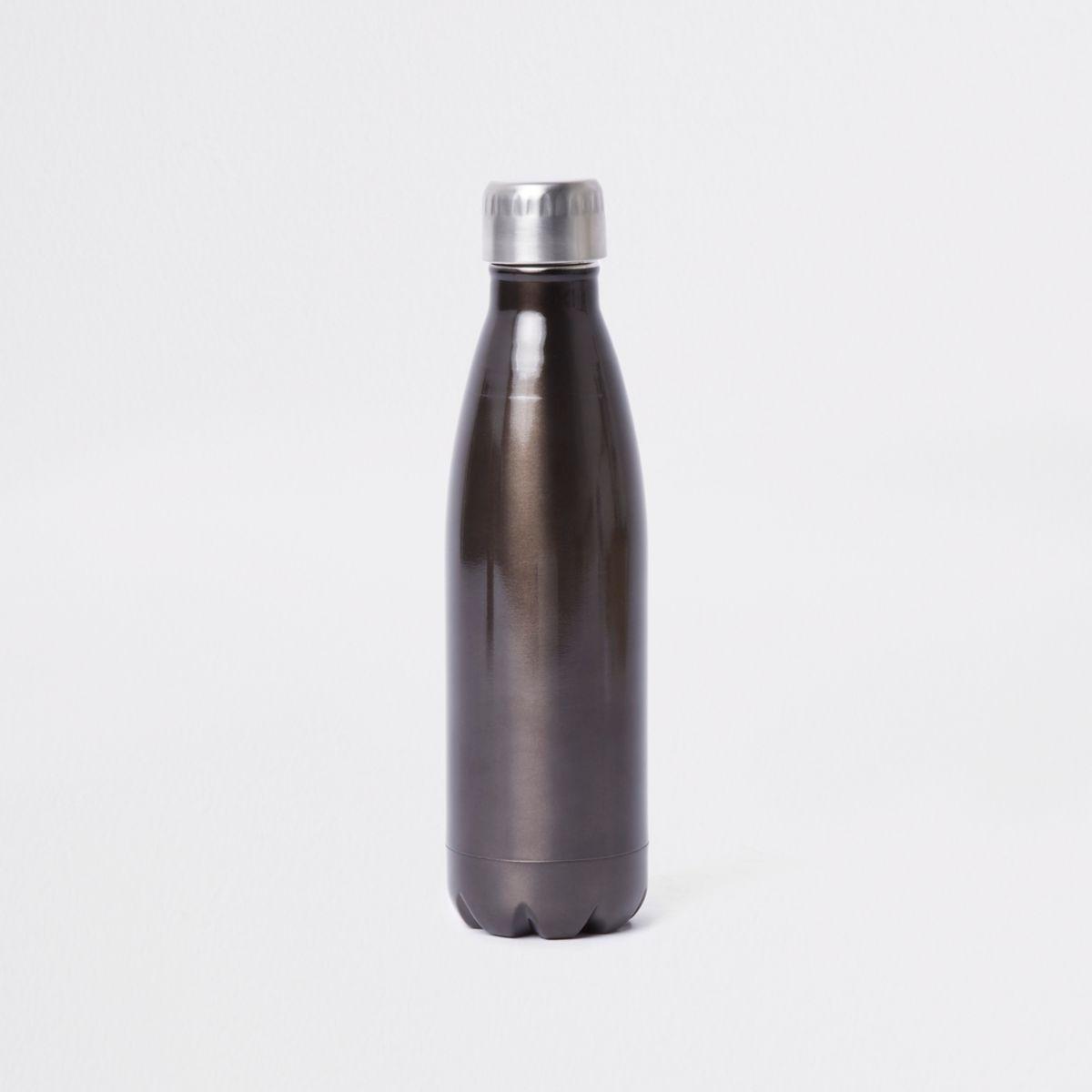 Grey thermal flask