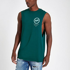 Débardeur «ninety» vert