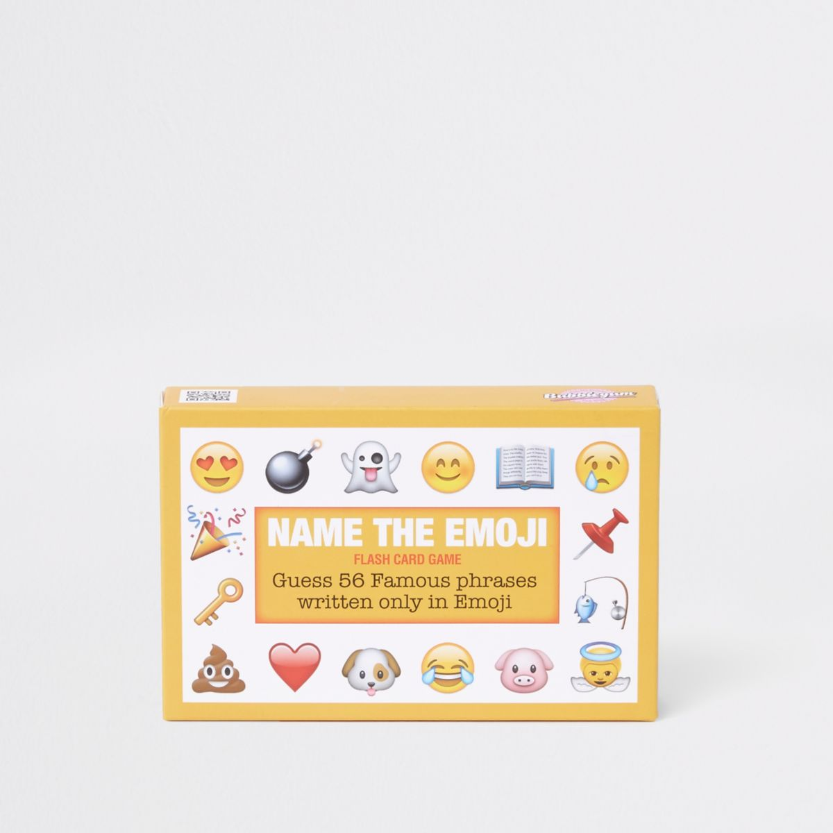 Yellow 'Name the Emoji' card set