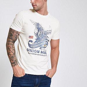 Jack & Jones Premium – Weißes T-Shirt