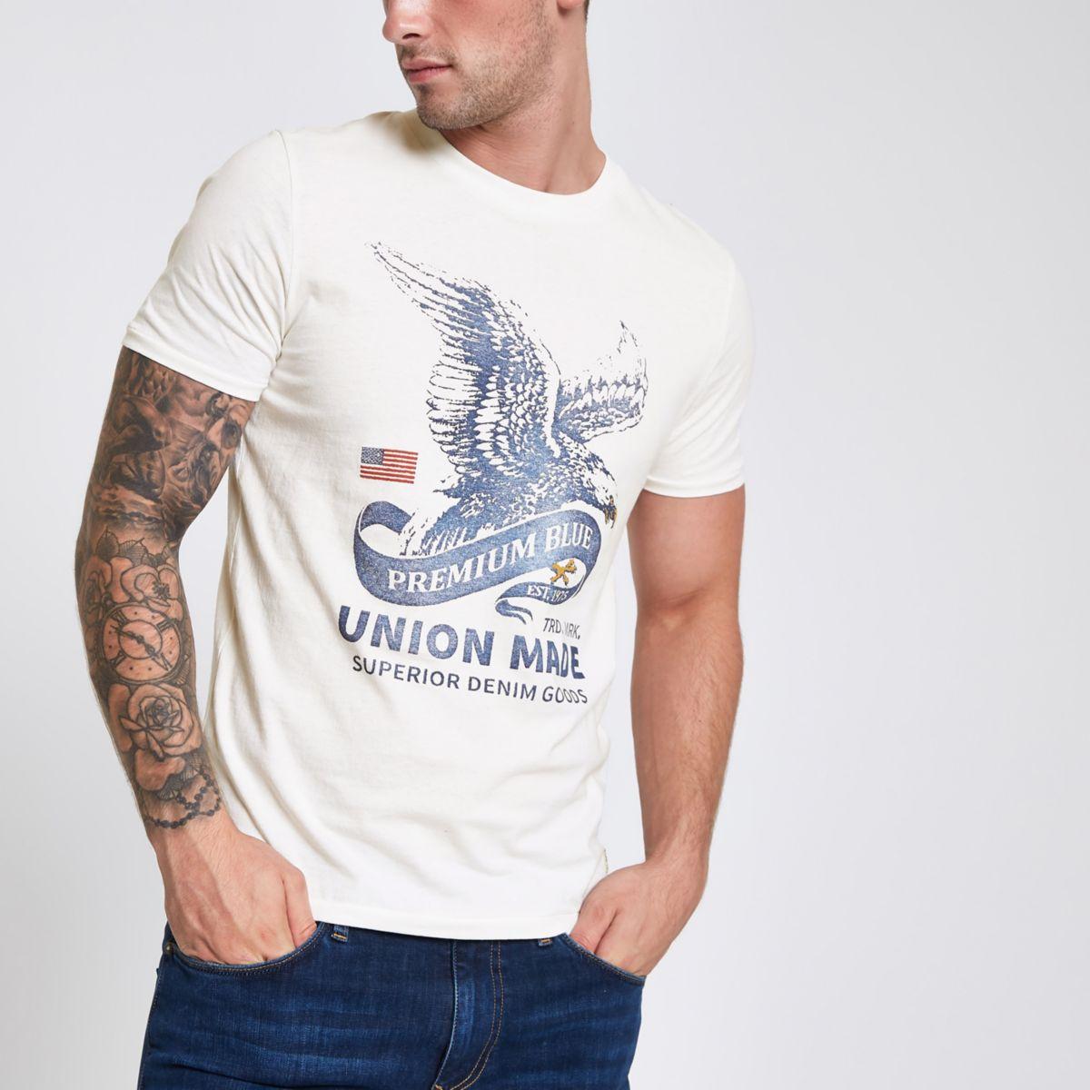 Jack & Jones white Premium T-shirt