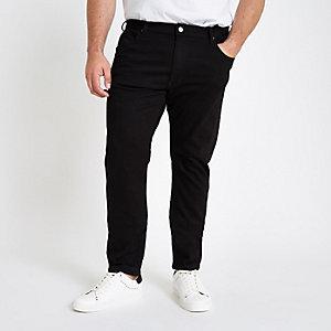 Lee – Big and Tall – Luke – Schwarze Jeans