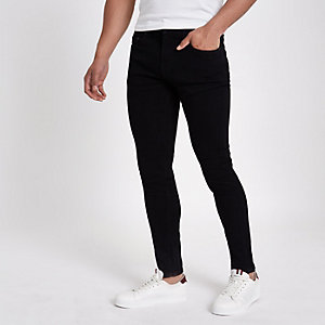 Black Only & Sons skinny fit jeans