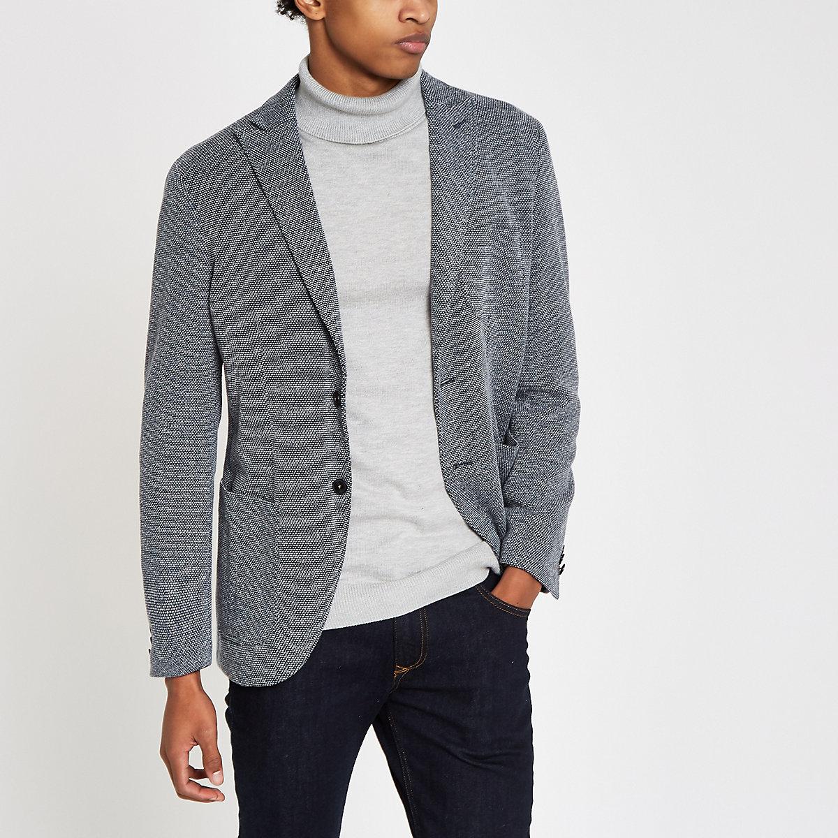 Jack & Jones Premium grey blazer