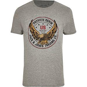Jack & Jones – Graues T-Shirt