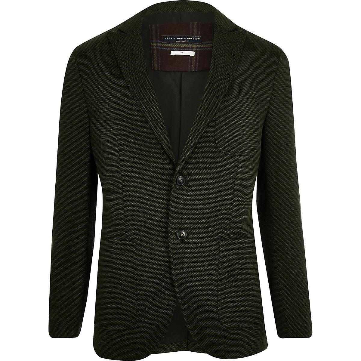 Jack & Jones Premium green blazer