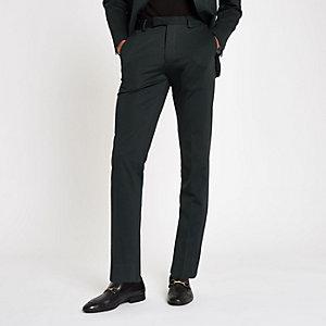 Jack & Jones Premium – Grüne Anzughose
