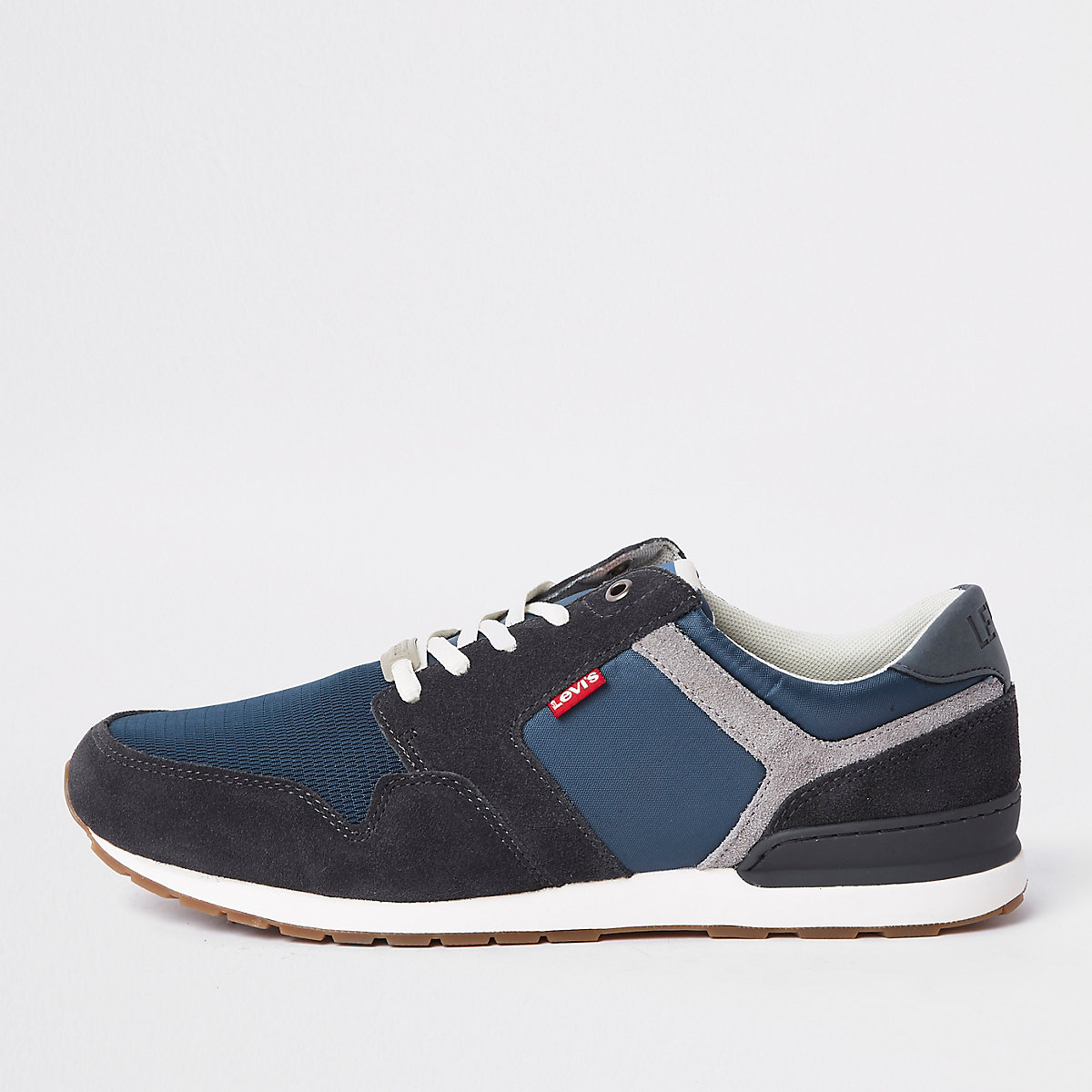 Levi's blue runner trainers