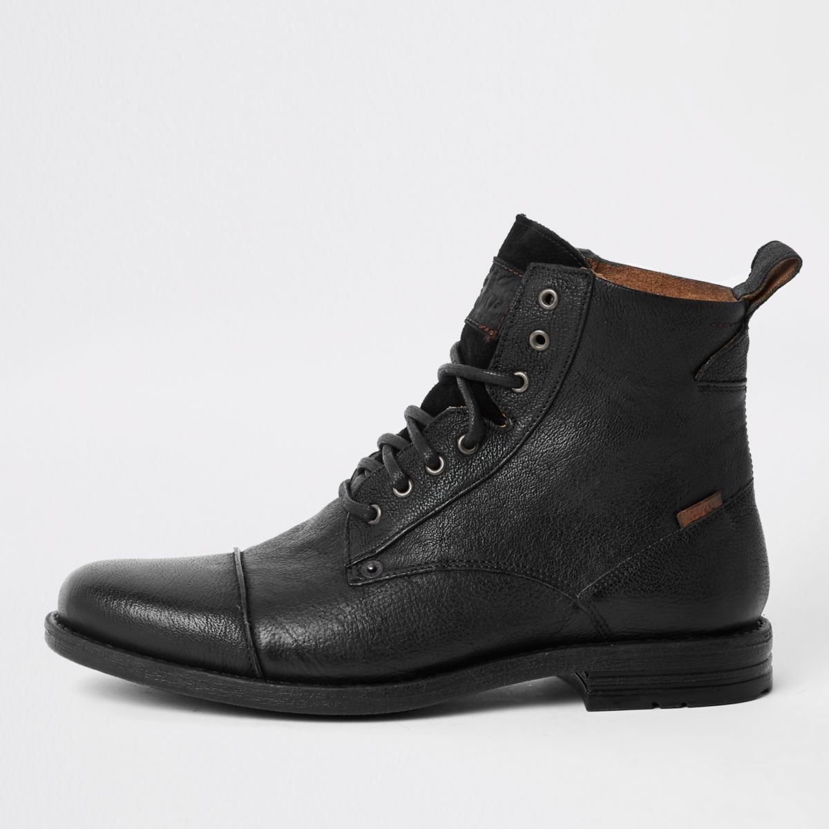 Chaussures River Island Pointure 46 noires homme  Or zyv3orD12