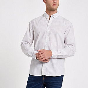 Minimum grey spot shirt