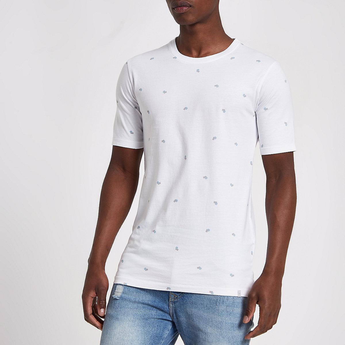 Minimum white print T-shirt