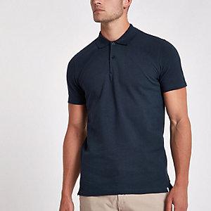 Minimum navy polo shirt