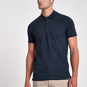 Minimum – Marineblaues Poloshirt
