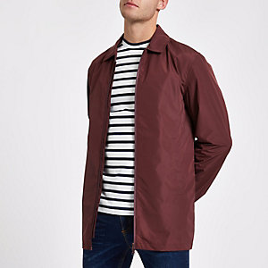 Minimum red lightweight jacket