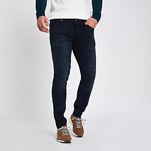Dark blue skinny fit denim jeans