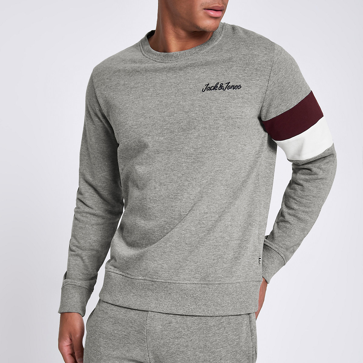 Jack & Jones Originals grey sweatshirt