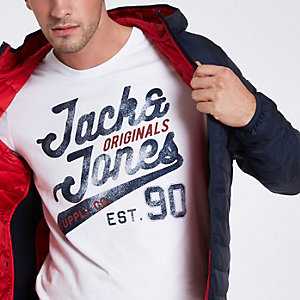 Jack & Jones Originals white T-shirt