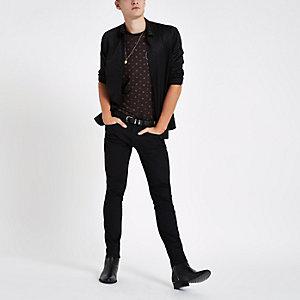 RI 30 black skinny fit jeans