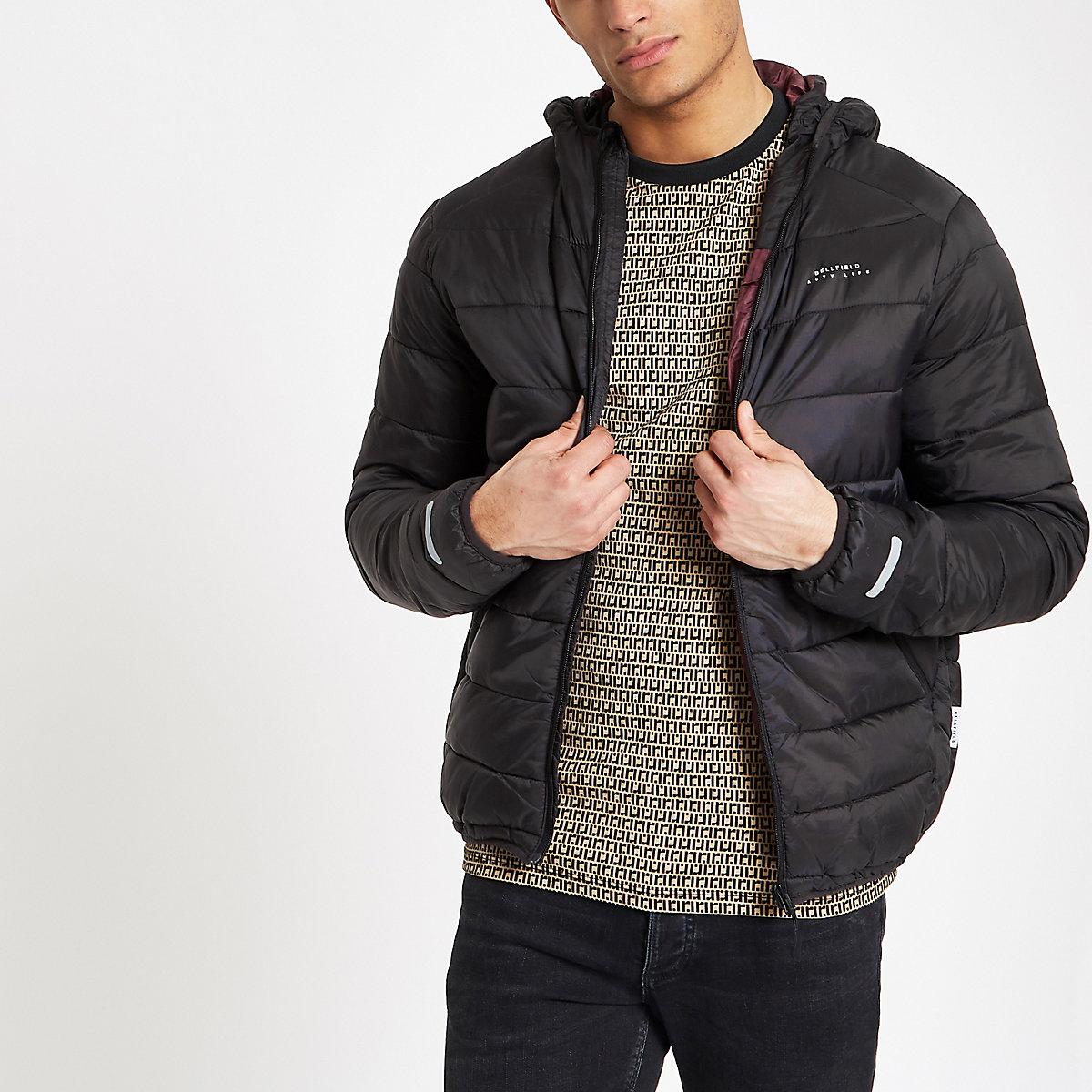 Bellfield black puffer jacket