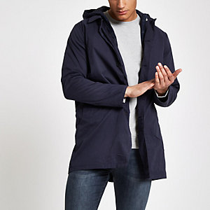 Bellfield – Marineblauer 3-in-1-Trenchcoat