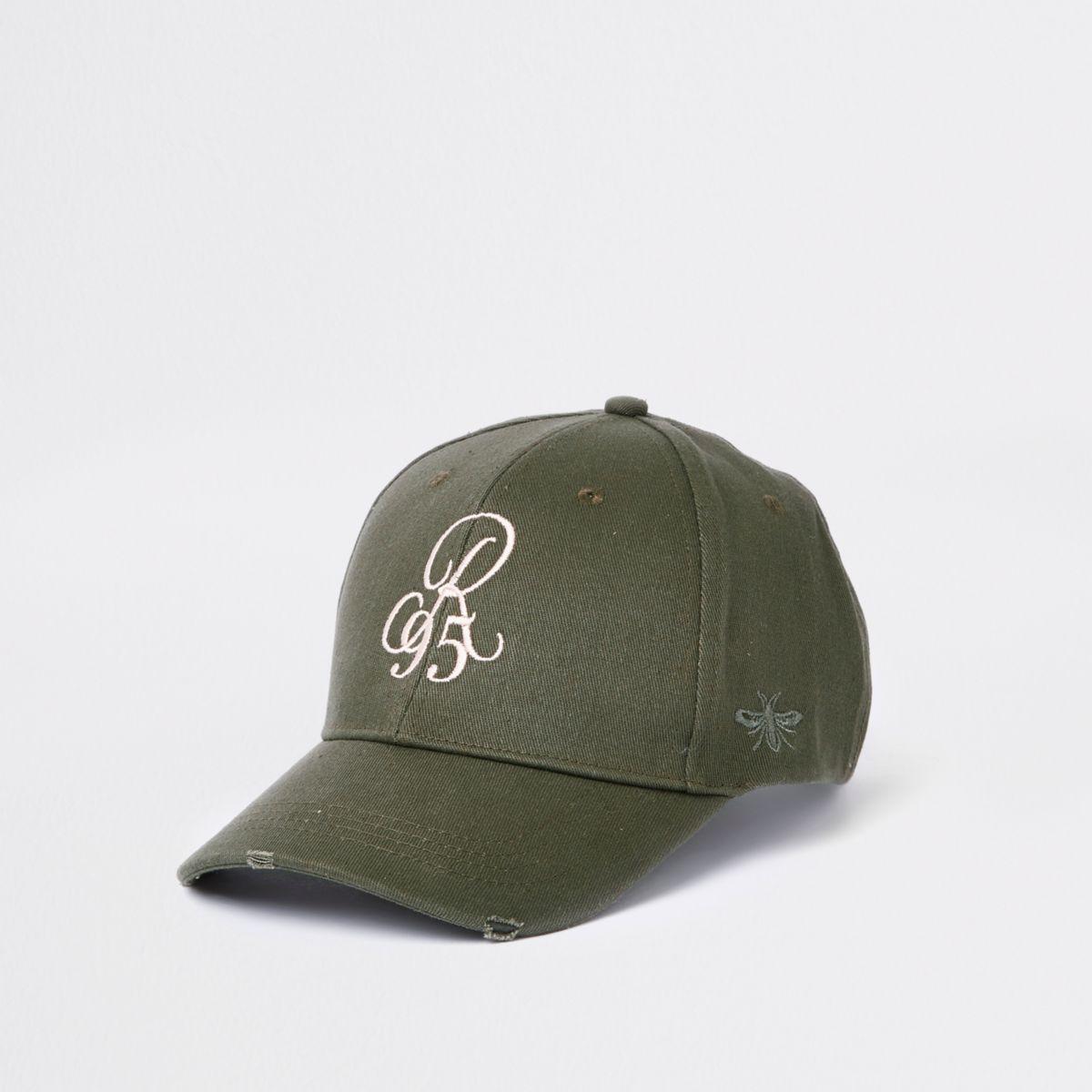 Khaki 'R95' baseball cap
