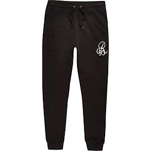 Big and Tall – Pantalon de jogging noir