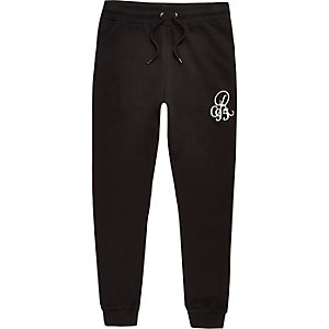 RI Big and Tall - Zwarte joggingbroek