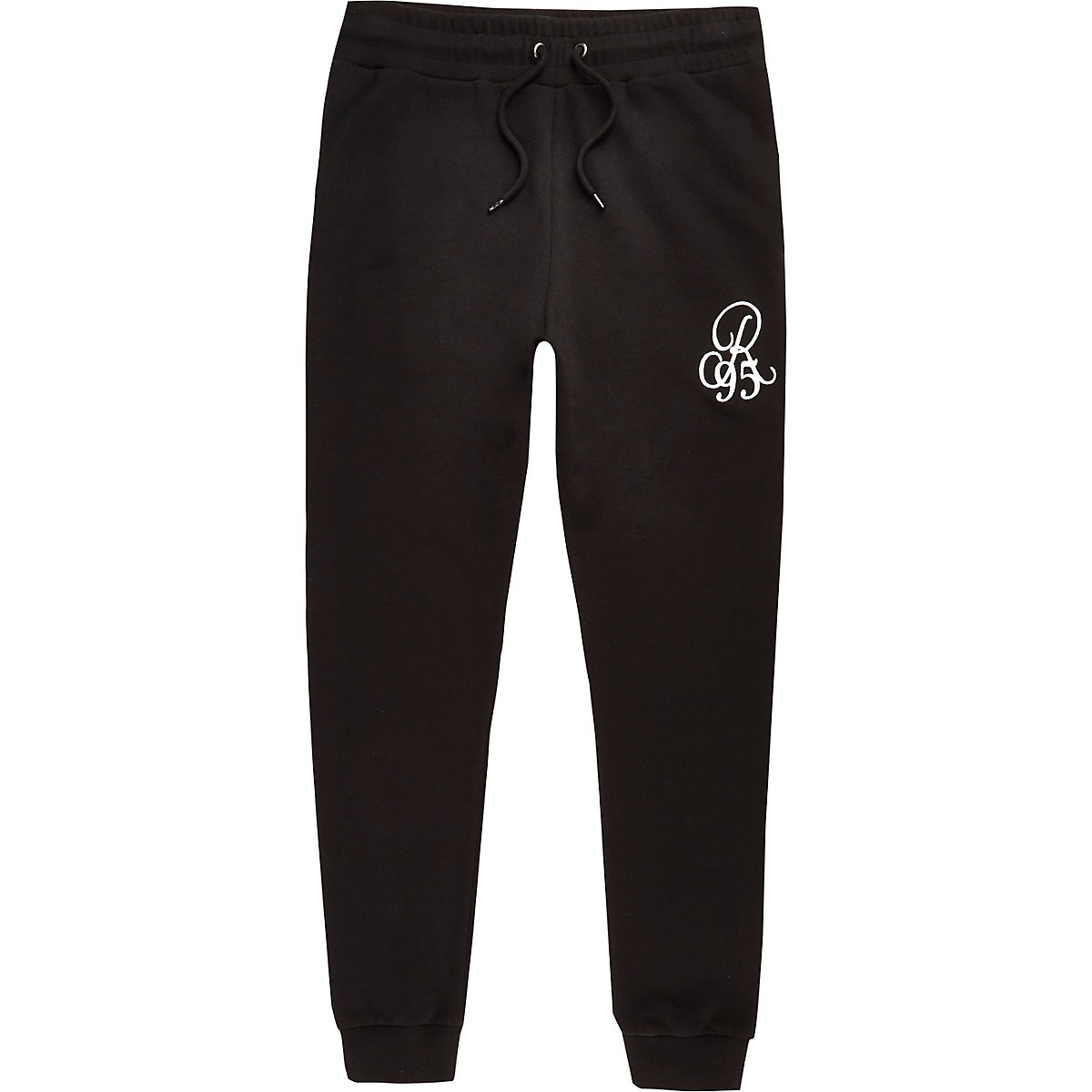 Big and Tall black jogging bottoms