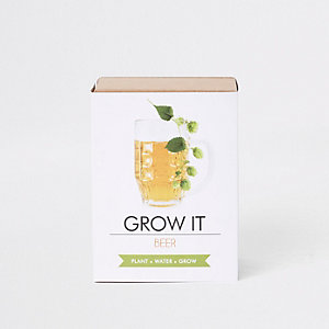 Witte grow your own beer-set