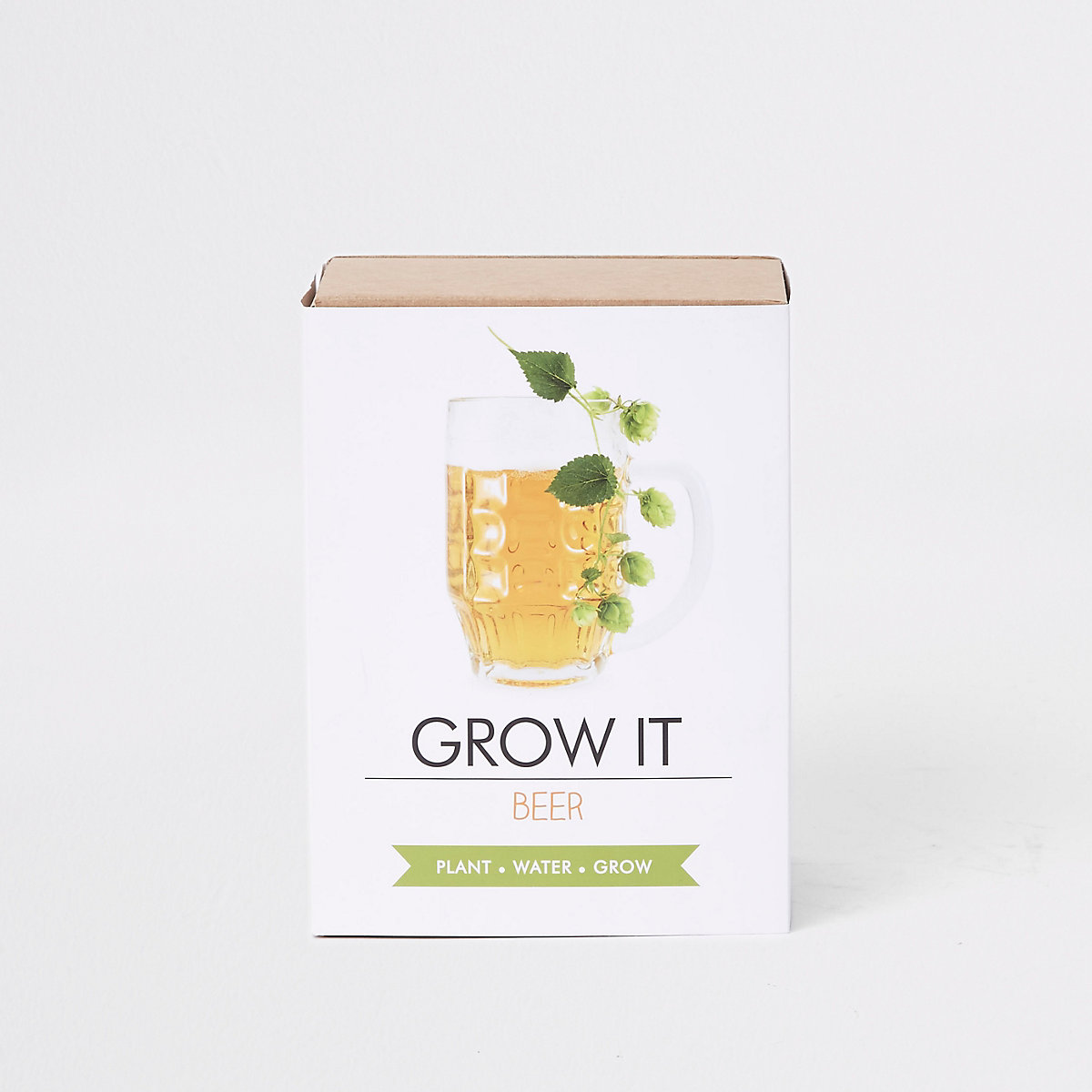 White grow your own beer set