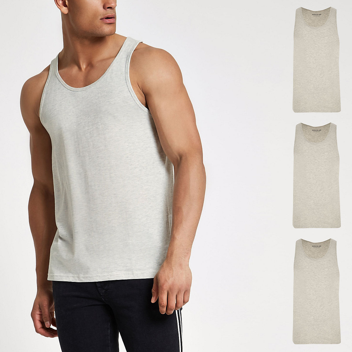 Grey vest multipack