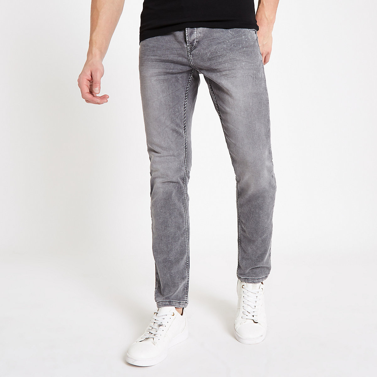 Only & Sons grey wash jeans