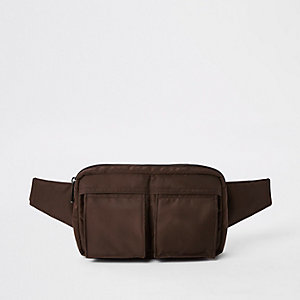 Red two pocket hip pack