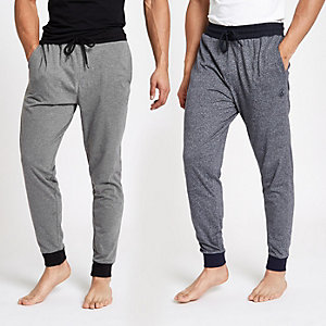 Grüne Pyjama-Jogginghose, Set