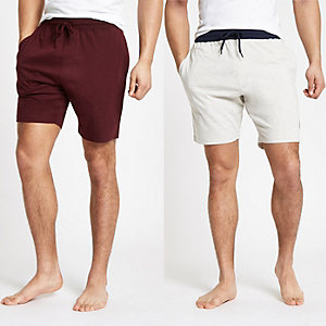 Lot de 2 shorts R96 bleu marine