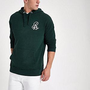 Groene hoodie met lange mouwen