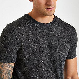Jack & Jones Premium – Schwarzes T-Shirt