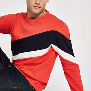 Jack & Jones red block sweatshirt