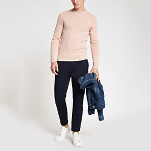 Jack & Jones Premium – Haut ras-du-cou rose
