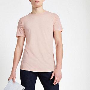 Jack & Jones Premium – T-shirt rose