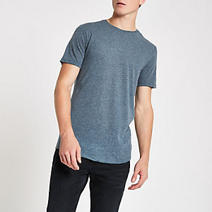 Jack & Jones navy blue Premium T-shirt