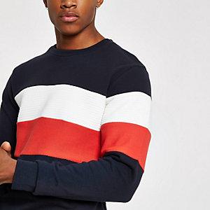 Jack & Jones – Blaues Sweatshirt